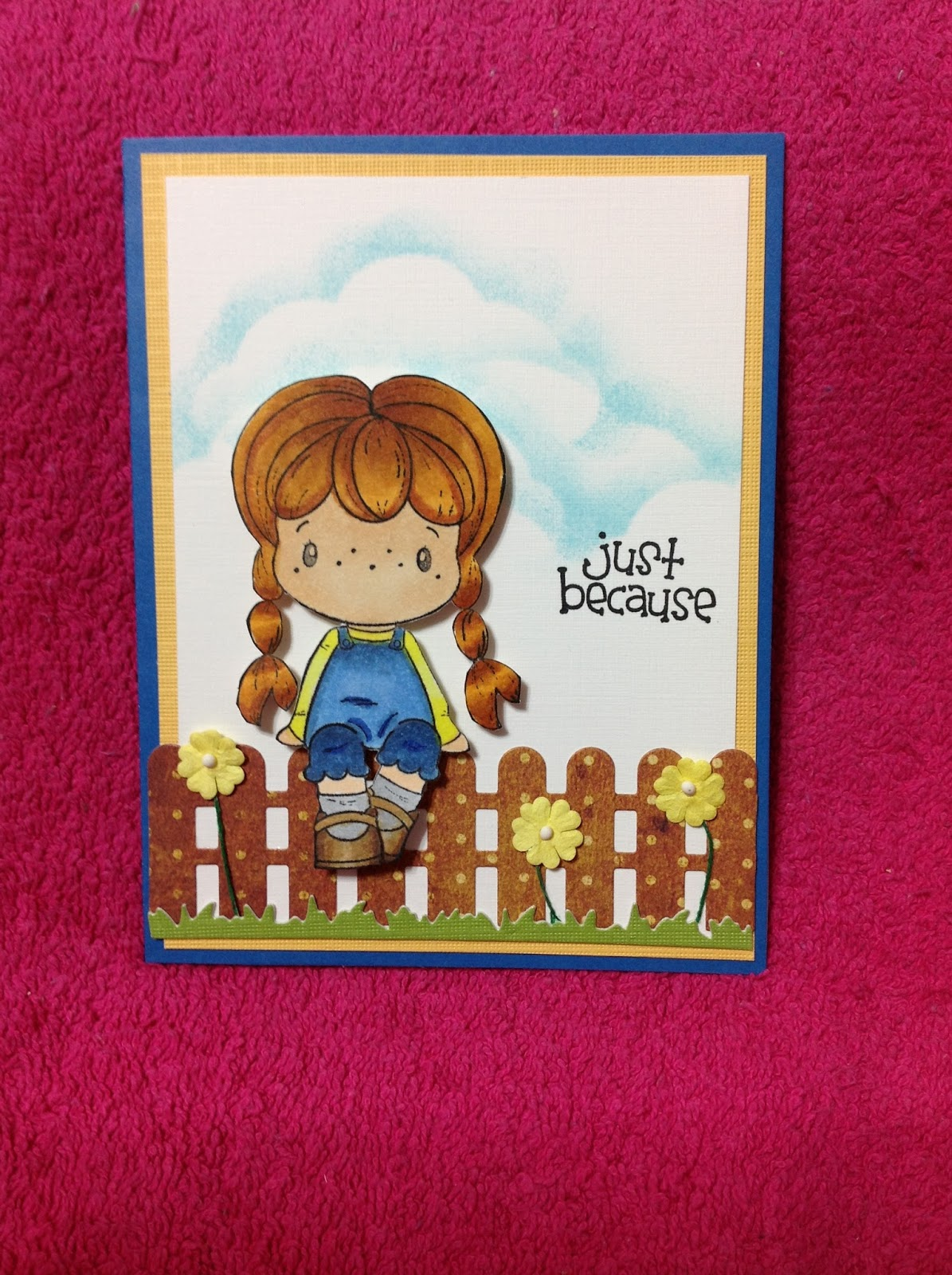 The Stamp Design Is By Cc Designs Rubber Stamps   Cute Brigitta