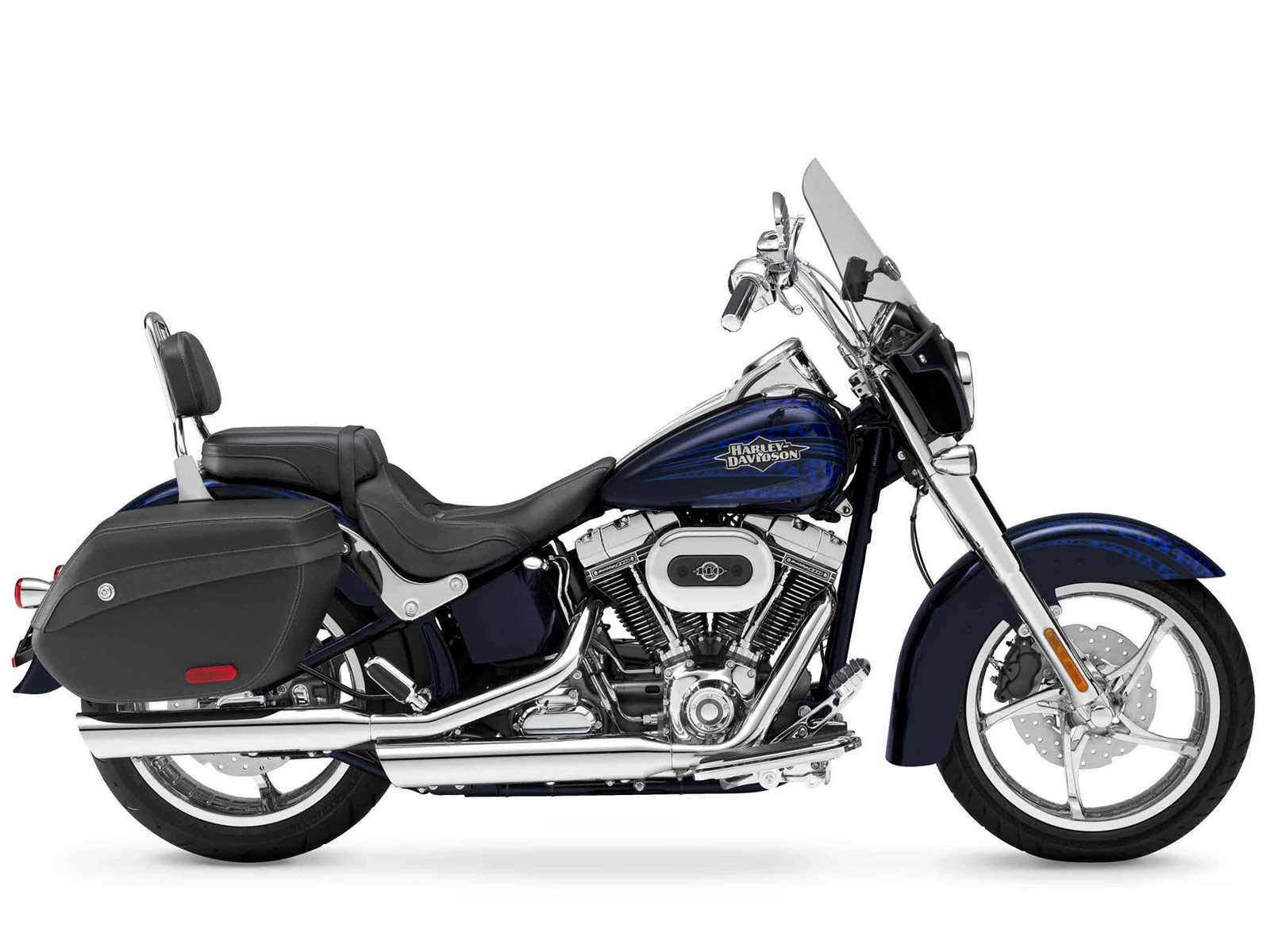 2012 harley davidson flstse3 cvo softail convertible. Black Bedroom Furniture Sets. Home Design Ideas