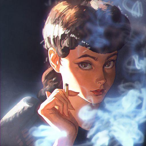 Rachael from Blade Runner.