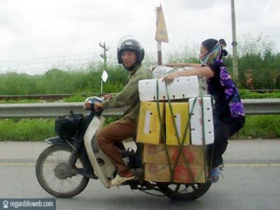 Images drôles et extraordinaires Transport - Marchandise v15