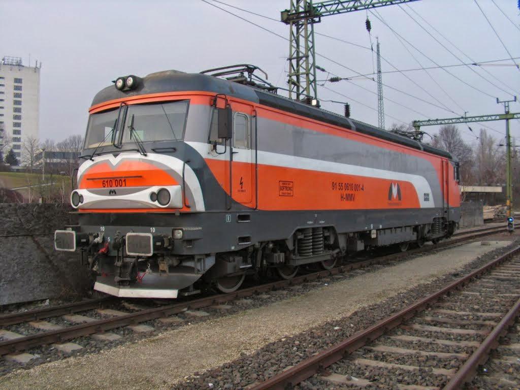 Magyar mozdonyok, vasúti eszközök, SzG3: 610 villany mozdony, SzG3