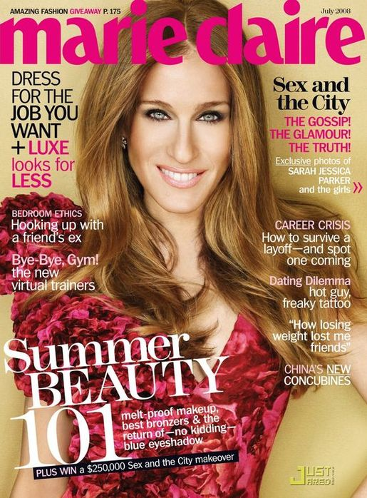 Sarah jessica parker makeup sex and the city