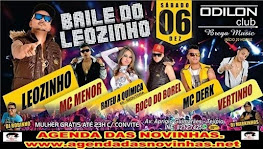ODILON CLUB BREGA MUSIC - BAILE DO LEOZINHO.