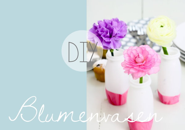 Upcycling: DIY Blumenvase