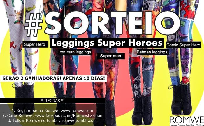 Sorteio Super Heroes