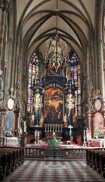Catedral de Santo Estêvão, Viena, Áustria.