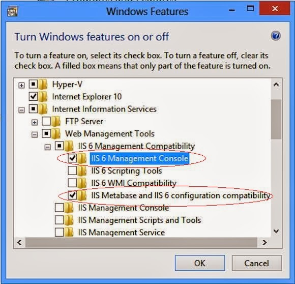 install iis 6 management console
