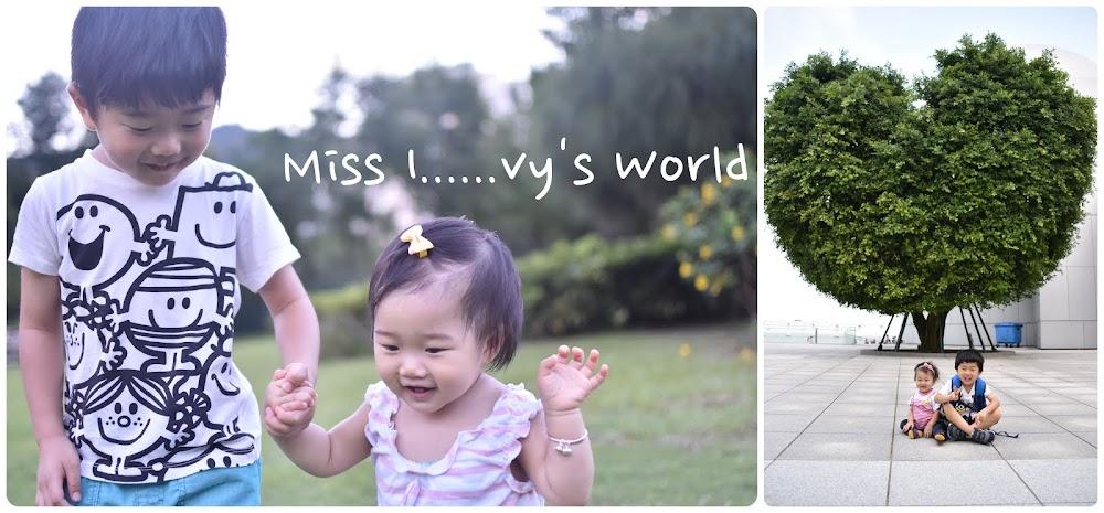 Miss I......vy's world