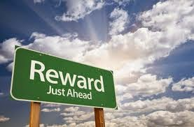 Reward is Ahead