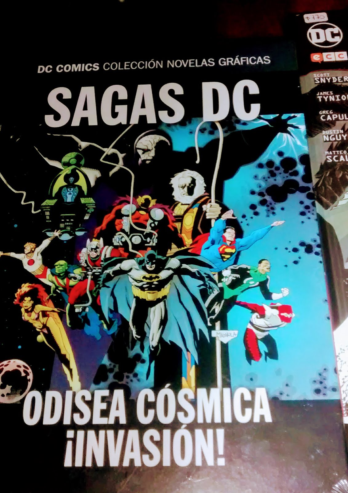 Un comic: Odisea Cosmica - Jim Starlin y Mike Mignola