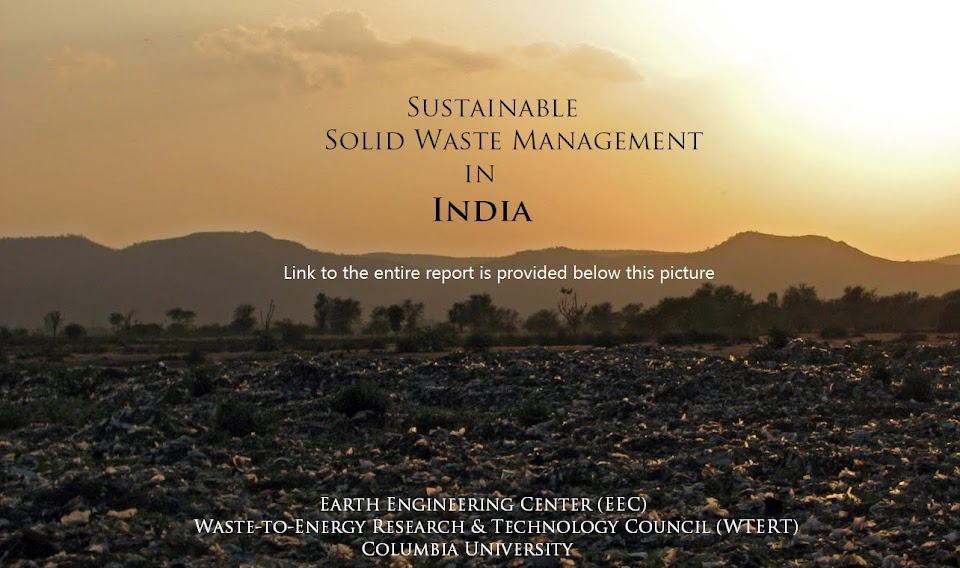 Sustainable Solid Waste Management in India