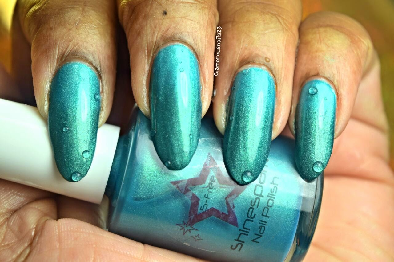 Shinespark Polish Peacock Swatch