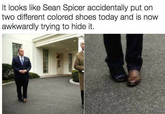 Creepy Spicer
