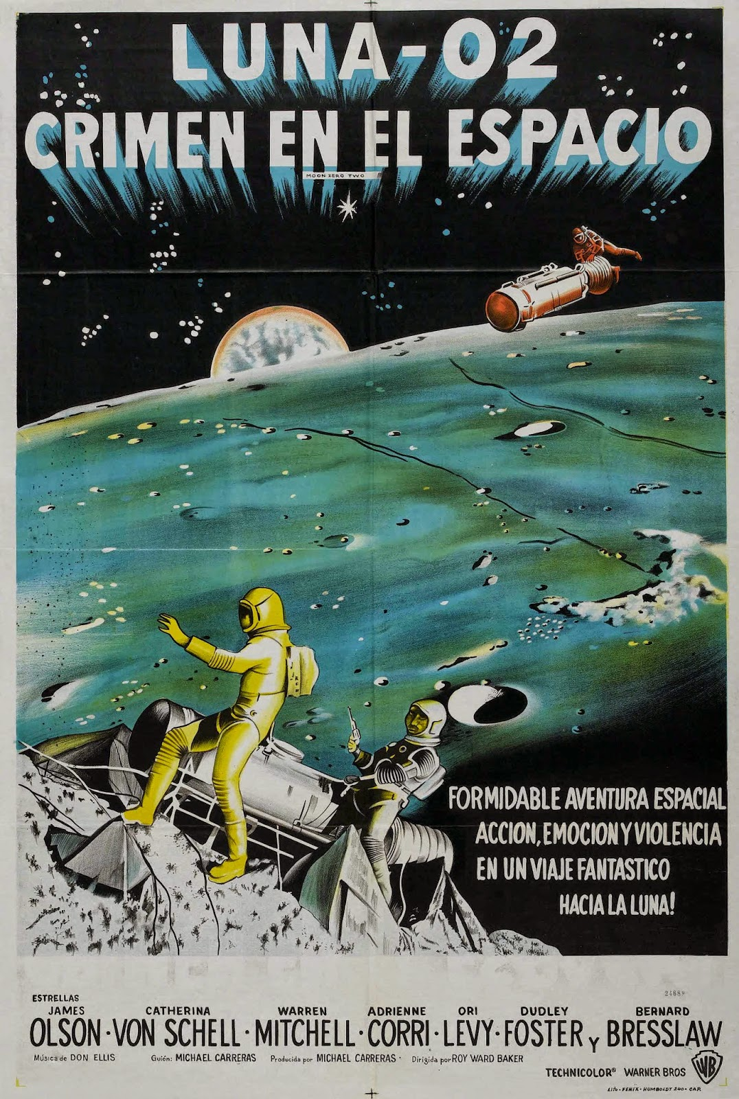 Luna Cero Dos (1969) (Moon Zero Two)