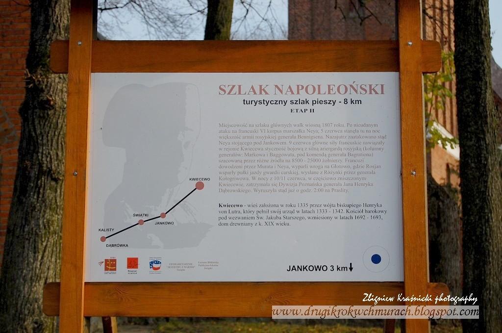 Kwiecewo - na szlaku Napoleona