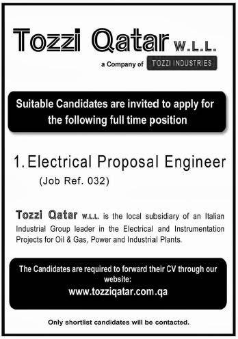 Electrical qatar electrical jobs qatar electrical jobs pictures fandeluxe Gallery