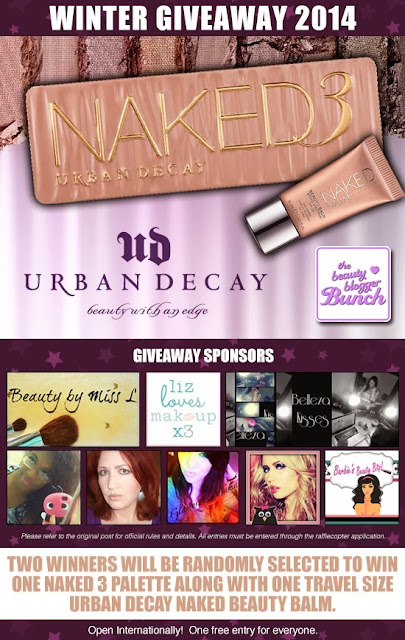 Urban Decay, Naked 3 Giveaway, by Barbie's Beauty Bits