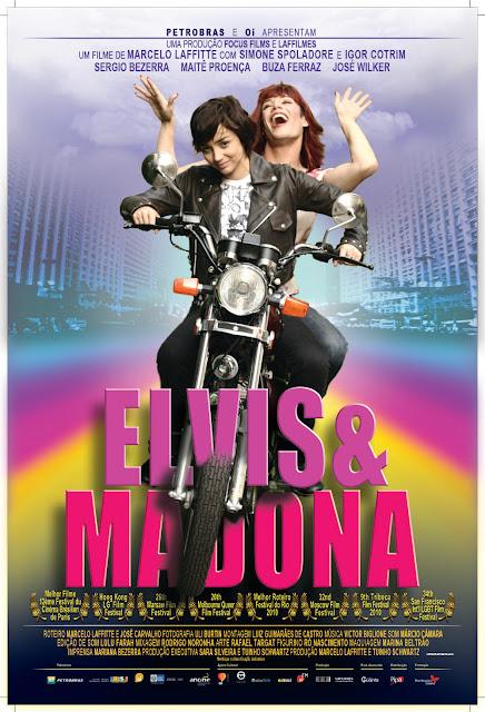 Lançamento no Cinema - Elvis e Madona