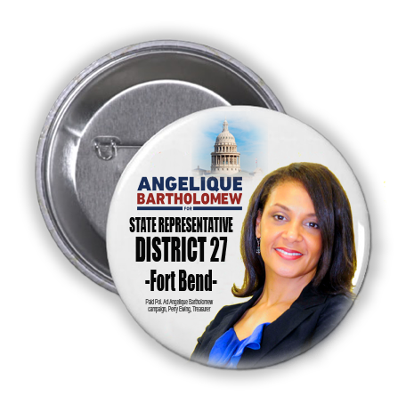 ANGELIQUE BARTHOLOMEW IS ASKING FOR YOUR VOTE IN THE RACE FOR STATE REP. FOR HOUSE DISTRICT 27