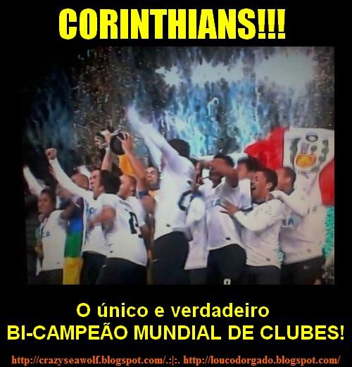 Corinthians, bi-campeão do mundo!!!