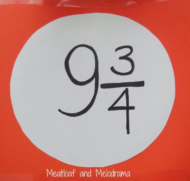 platform nine and three quarters sign