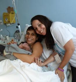 Nasceu o Téo, em um parto normal humanizado hospitalar!