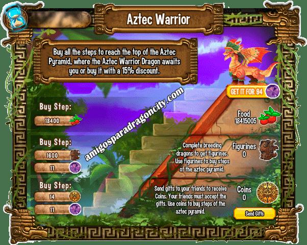 imagen de las tareas y objetos magicos del segundo juego de la isla azteca de dragon city