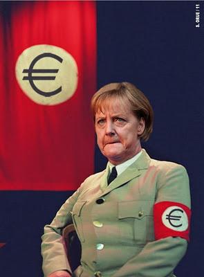 Humor, lumpenproletariado, palurdos y desclasados varios. - Página 6 Angela+Merkel+Hitler