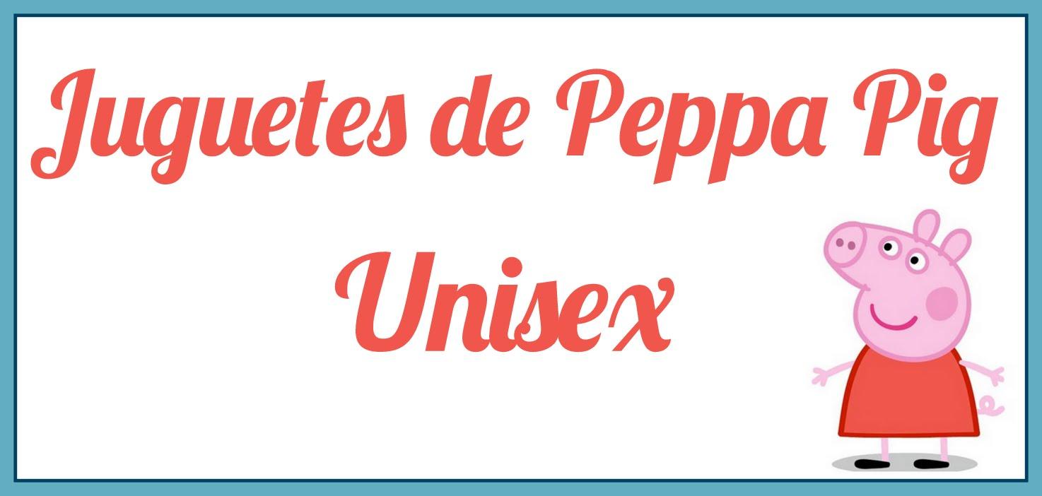 Dibujo de la cerdita animada Peppa Pig con rótulo que dice Juguetes de Peppa Pig Unisex
