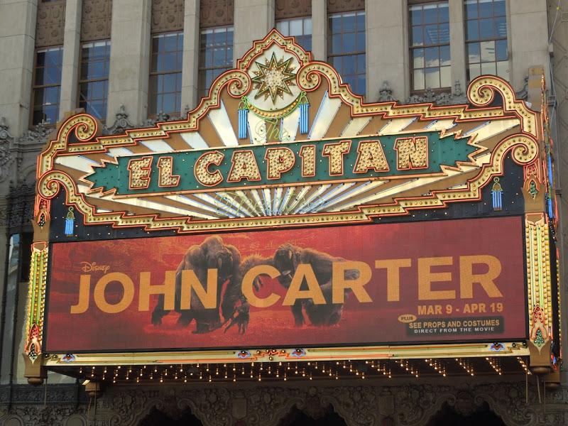John Carter El Captan Hollywood