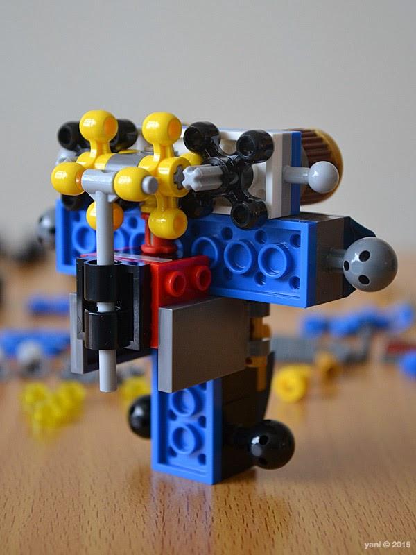lego ninjago electromech - engineering bits