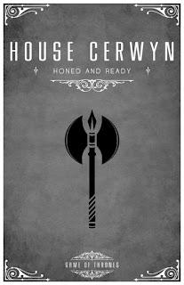 emblema casa Cerwyn - Juego de Tronos en los siete reinos