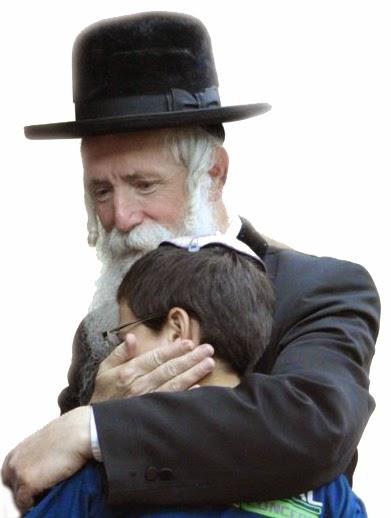 הרב גרוסמן עם גל-עד