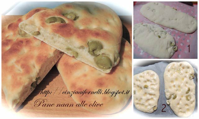 pane naan alle olive