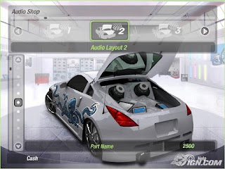 Need for speed underground 2 car cheats