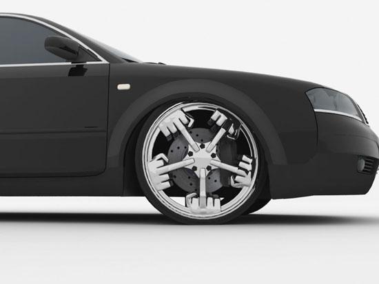 Airless Car Tires >> 15 Creative Car Rims and Cool Car Rim Designs.