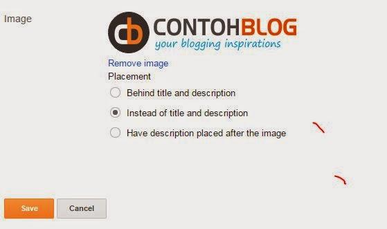 ganti logo header blog