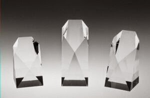 "Small Commemorative Tower Crystal Award (5"")"
