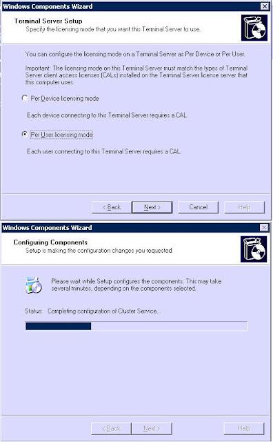 Agregar instalar licencias de windows 2003 terminal services escritorio remoto tecnolog a - Reiniciar escritorio remoto ...