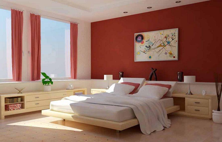 model cat interior kamar tidur terbaru