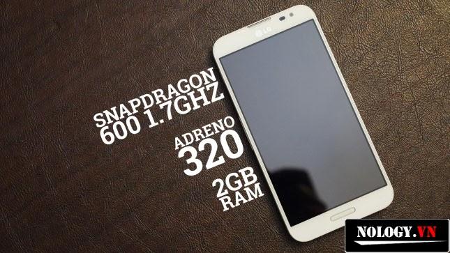 Chip xử lí trên G Pro Snapdragon 600 1.7GHz