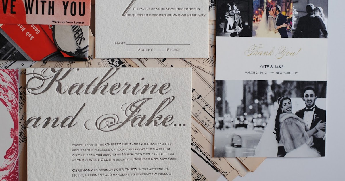 Wedding: The Thank You Cards
