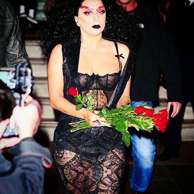Lady Gaga Mírame que soy realidad