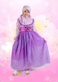 Contoh Model Baju Muslim Anak Perempuan