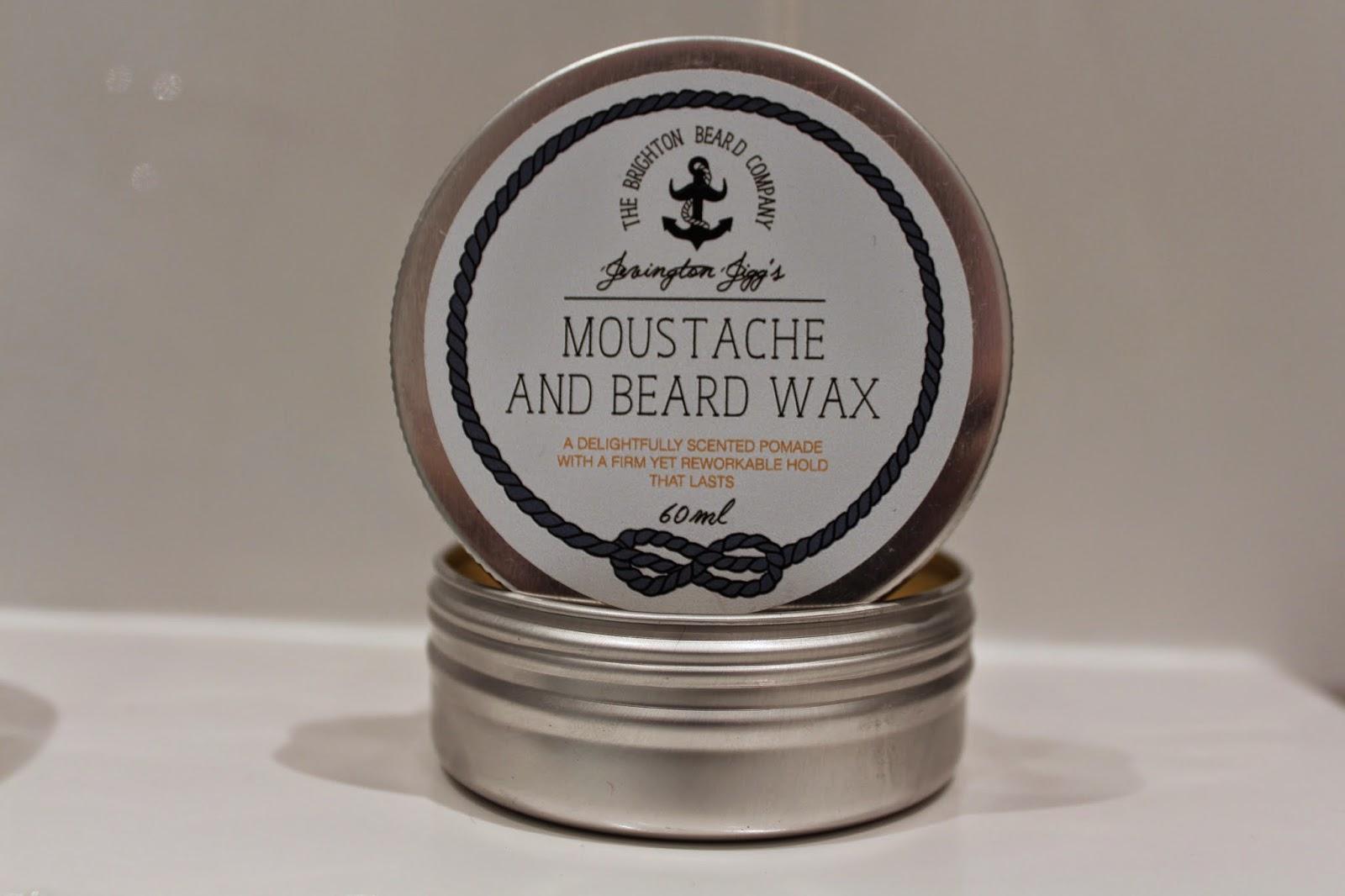the brighton beard company moustache wax
