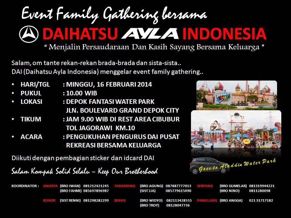 Family Gathering Di Depok Fantasi Water Park