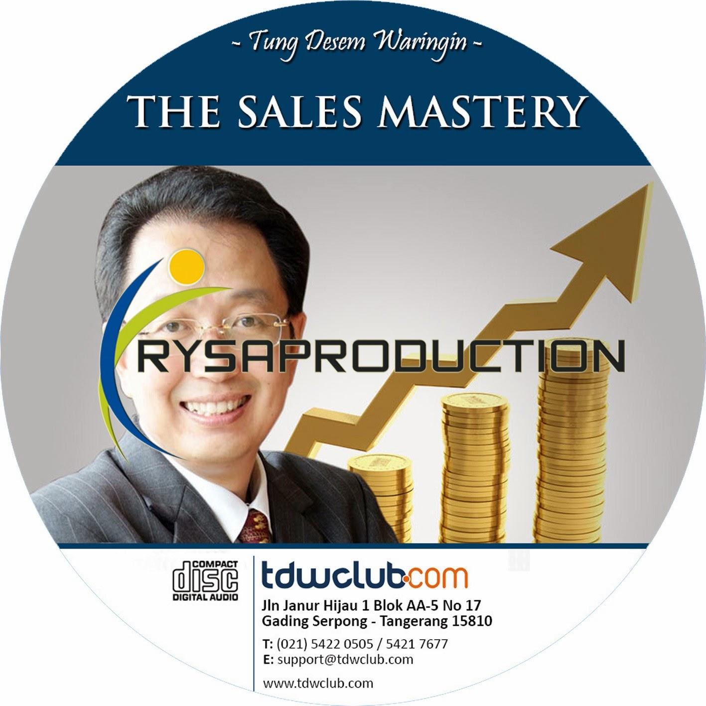 Sales Mastery TDW Club