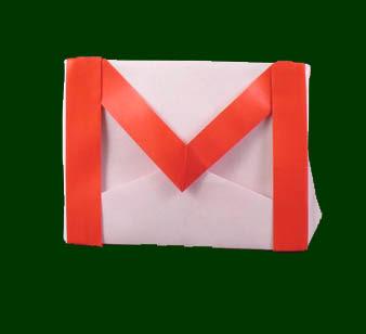 Amazing Gmail Logo origami