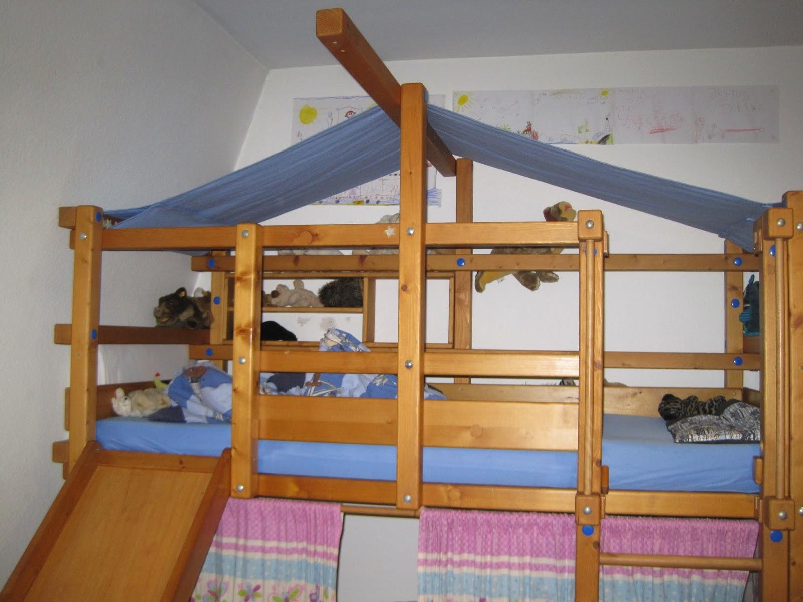 Etagenbetten Billi Bolli : Fadenland dach fürs billi bolli hochbett