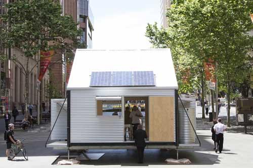 GRID - Emergency Shelters by Sydney-based architects – Carterwilliamson.